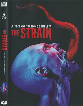The Strain  - stagione 2 (2014 2017) 4xDVD9 COPIA 1:1 ITA ING TED