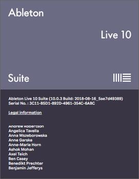 Ableton Live Suite 10.0.3 (MULTI/ENG)
