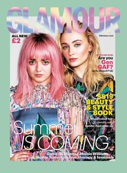 Sophie Turner & Maisie Williams - Glamour (UK) - March 2019
