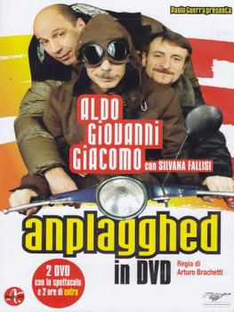 Aldo, Giovanni & Giacomo - Anplagghed (2006) 1xDVD9+1xDVD5 Copia 1:1 ITA