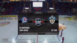 NLA 2018-10-06 Rapperswil-Jona Lakers vs. EV Zug 720p - French A9532b994713414