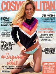 Bar Refaeli -                           Cosmopolitan Magazine (Spain) July 2018.
