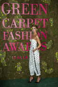Stella Maxwell - Green Carpet Fashion Awards in Milan 9/23/18