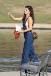 Selena Gomez at Lake Balboa park in Encino 02/02/20182f8a6d737639753