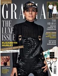 Elizabeth Hurley -                    Grazia Magazine June (2018).