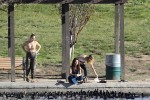 Selena Gomez at Lake Balboa park in Encino 02/02/201861cf79737644643