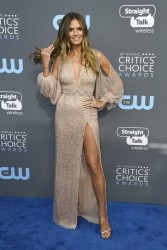 Heidi Klum - The 23rd Annual Critics' Choice Awards in Santa Monica 1/11/18