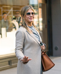 Jennifer Aniston - Out for lunch in NYC 4/23/18