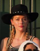 Amber Heard - Wimbledon day 5 (7/7/18)