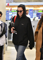 Dua Lipa - At LAX Airport 2/14/19