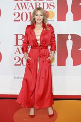 Kylie  Minogue - 2018 BRIT Awards in London 2/21/18