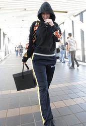 Iggy Azalea - At LAX Airport 3/19/18