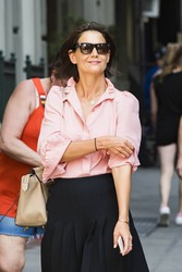 Katie Holmes - Out in NYC 8/8/18
