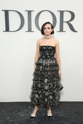 Olivia Cooke - Christian Dior Fashion Show in Paris 9/24/18