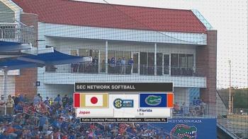 NCAA Softball - Team Japan @ Florida Gators - Exhibition Game - 2019 02 12 - 720p - English 0f1e241129470364
