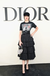 Shailene Woodley - Christian Dior Fashion Show in Paris 9/24/18