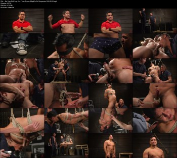 ...But Your Dick Says Yes - Tony Prower Edged In Full Suspension 2019-02-19