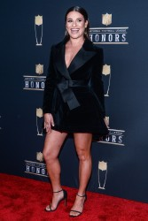 Lea Michele at the NFL Honors in Minneapolis, Minnesota - 2/3/18