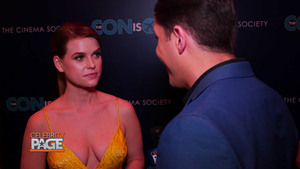 Alice Eve Red Carpet Interview at The Con is On Premiere in New York City - 5/2/18