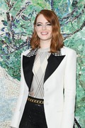 Emma Stone -                               Louis Vuitton 2019 Cruise Collection Saint-Paul-De-Vence France May 28th 2018.
