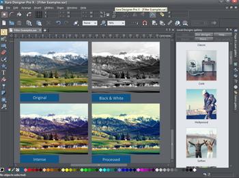 Xara Designer Pro X 15.0.0.52427 (x86/x64) ENG/RUS