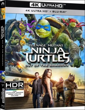 Tartarughe Ninja - Fuori dall'ombra (2016) Full Blu-Ray 4K 2160p UHD HDR 10Bits HEVC ITA DD 5.1 ENG TrueHD 7.1 MULTI