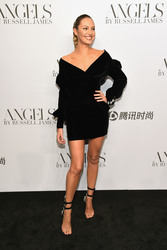 "Candice Swanepoel - ""ANGELS"" By Russell James Book Launch And Exhibit in NYC 9/6/18"
