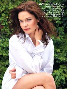 Rebecca Ferguson  -                        Woman Madame Figaro Magazine (Spain) August 2018.