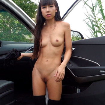 Littlesubgirl - Asian Slut Gives Uber Driver a Good Fuck (2017) HD 1080p