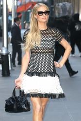 Paris Hilton - Arriving at Sirius XM Studios in NYC 12/19/18