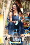 Selena Gomez at Lake Balboa park in Encino 02/02/2018589ce8737642923
