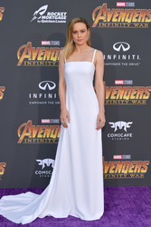 "Brie Larson - Premiere Of Disney And Marvel's ""Avengers: Infinity War"" in LA 4/23/18"