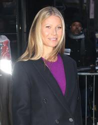 Gwyneth Paltrow - Leaving Good Morning America in NYC 1/10/19