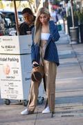 Madison Beer - Debuts Blonde Hair in Beverly Hills 12/27/18