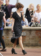 Lily James - Filming in London 6/27/18
