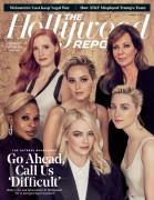 Jessica Chastain -             The Hollywood Reporter Magazine November 2017.