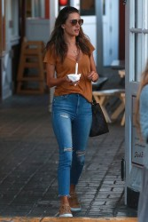 Alessandra Ambrosio - Out in Brentwood 1/30/18