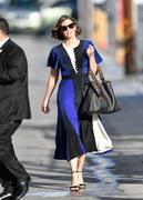 Lauren Cohan - Arriving at Jimmy Kimmel Live in Hollywood 2/28/19