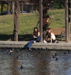 Selena Gomez at Lake Balboa park in Encino 02/02/201855a87d737641543