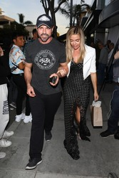 Denise Richards - Leaving Andy Cohen's Baby Show in LA 1/26/19
