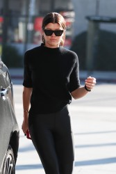 Sofia Richie - At a gas station in Beverly Hills 1/7/18