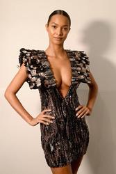 Lais Ribeiro - Cong Tri Fashion Show in NYC 2/11/19