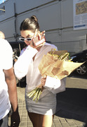 Kendall Jenner - Visiting Off-White Offices in Paris 9/26/18