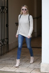 Emma Roberts - Shopping in Beverly Hills 1/9/18
