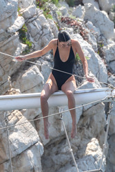 Kendall Jenner - Swimsuit candids in Cannes, France 5/11/18