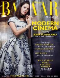 Kaya Scodelario -              Harper's Bazaar Magazine (Malaysia) December 2017.