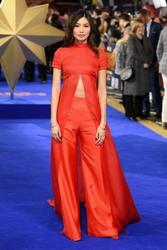 Gemma Chan -            ''Captain Marvel'' Premiere London February 27th 2019.