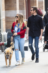 Hilary Duff - Out in NYC 4/21/18