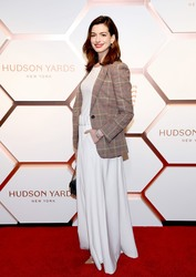 Anne Hathaway -           Hudson Yards VIP Grand Opening New York City March 14th 2019.