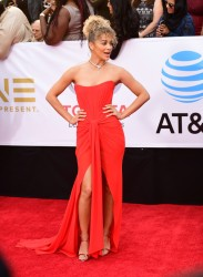 Jasmine Sanders - 48th NAACP Image Awards in Pasadena 1/15/18